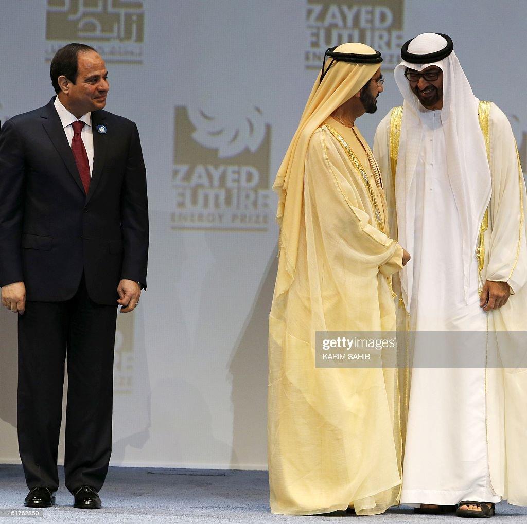 UAE-EGYPT-ENERGY-SUMMIT-SISI : News Photo