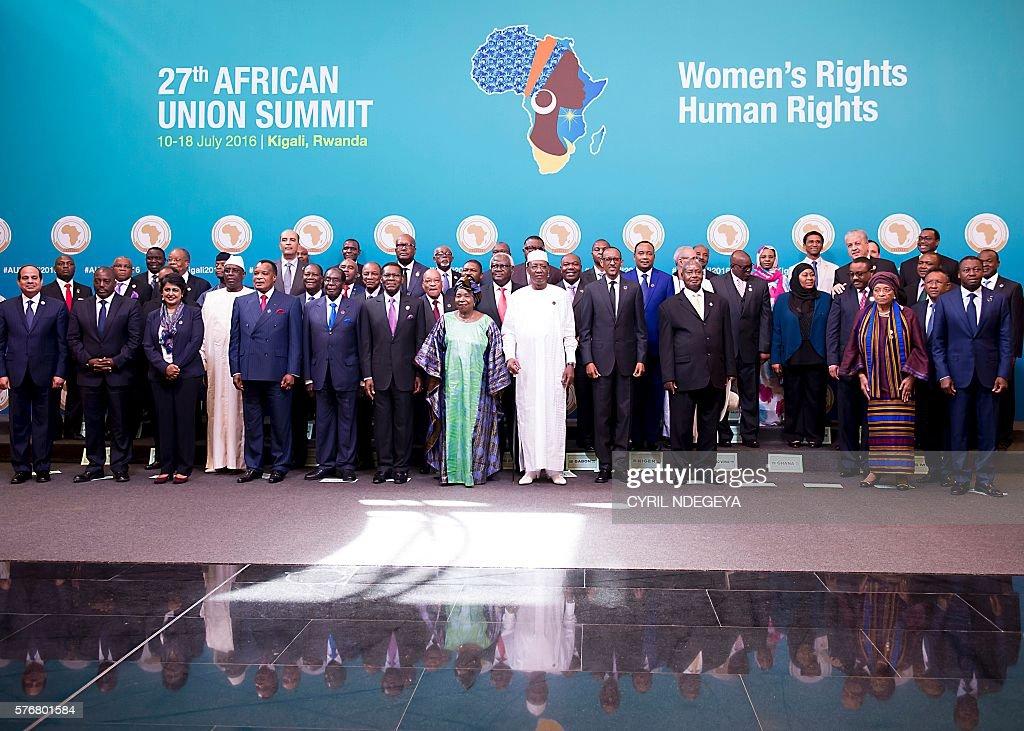 RWANDA-AU-SUMMIT-POLITICS : News Photo