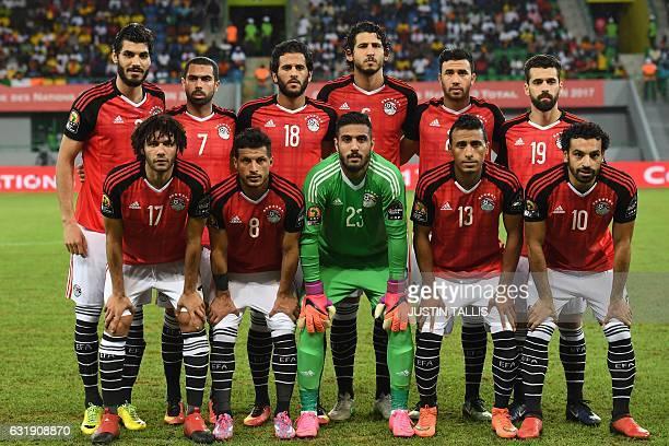 Egypt's squad defender Ali Gabr defender Ahmed Fathi forward Marwan Mohsen defender Ahmed Hegazy midfielder Mahmoud Hassan forward Abdallah Said...