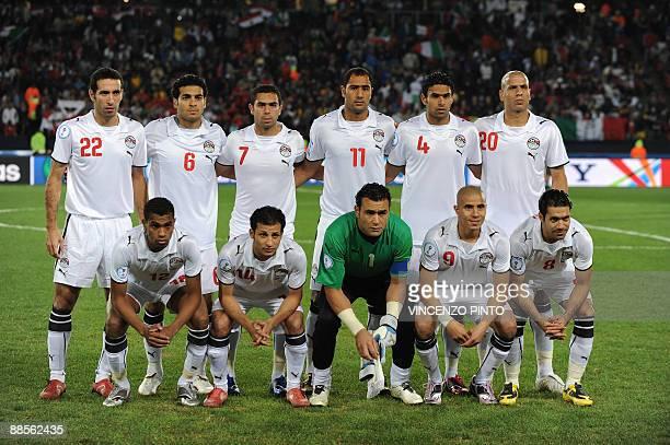 Egytpian forward Mohamed Aboutrika Egyptian defender Hani Said Eygptian midfielder Ahmed Fathi Egyptian midfielder Mohamed Shawky Egyptian defender...