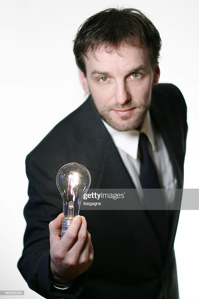 Eh... I have a brillant idea for you! : Stock Photo