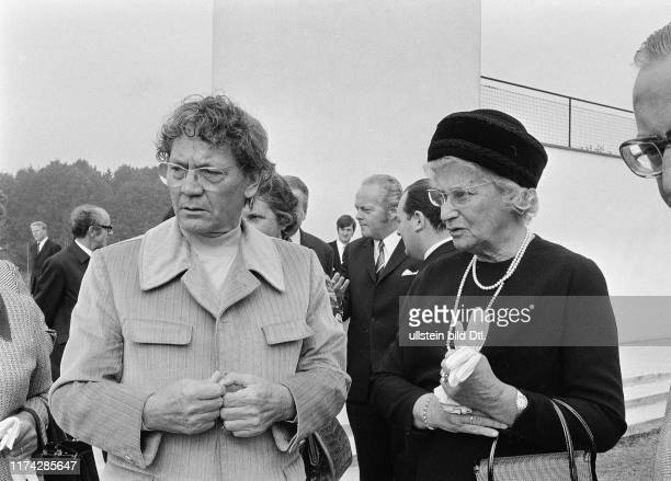 Ehefrau des deutschen Bundespräsidenten Gustav Heinemann, anlässlich des Staatsbesuchs in der Schweiz