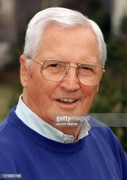 Ehemaliger Bundestrainer des Deutschen Fußball-Bundes , aufgenommen am 6.3.1997 in St. Ingbert. In seine Amtsperiode von 1978 bis 1984 fielen der...