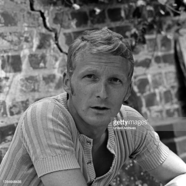 Ehemann der deutschen Volksschauspielerin Heidi Mahler: Klaus Wischmann, Deutschland 1960er Jahre.