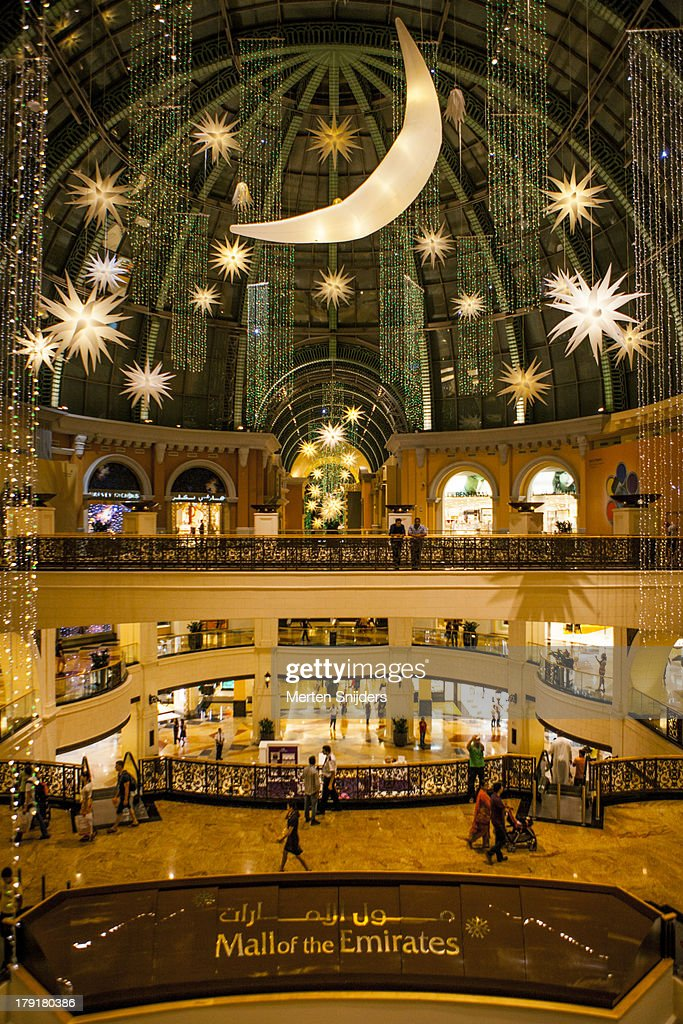 Eid Mubarak Decoration At Mall Stock Photo | Getty Images