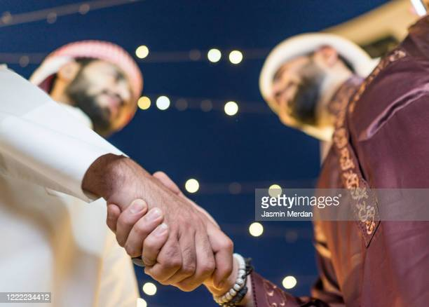 eid mubarak - qatar stock pictures, royalty-free photos & images