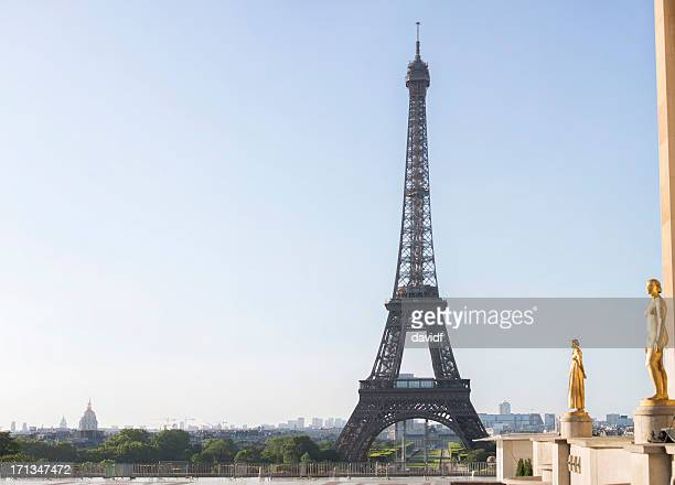 Eiffel Tower and Trocadero
