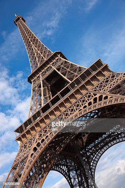 Eiffel Tower, Angled View, Paris, France