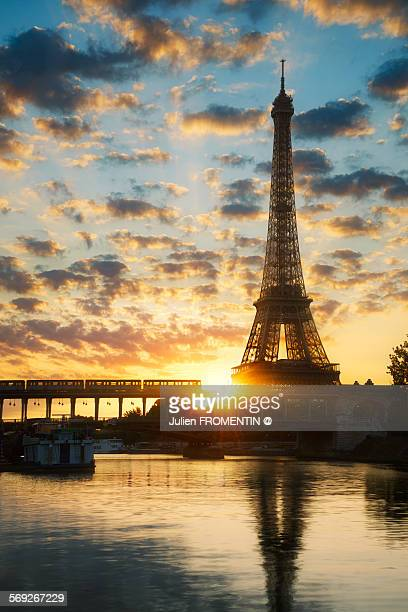 Eiffel Tower & Bir Hakeim, Paris