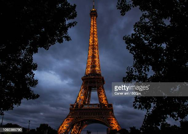 Eiffel Tower from a Nice Angle