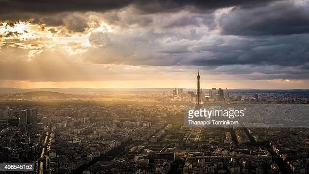 Eiffel Tower from Montparnasse