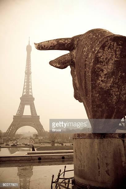 Eiffelturm von Trocadero