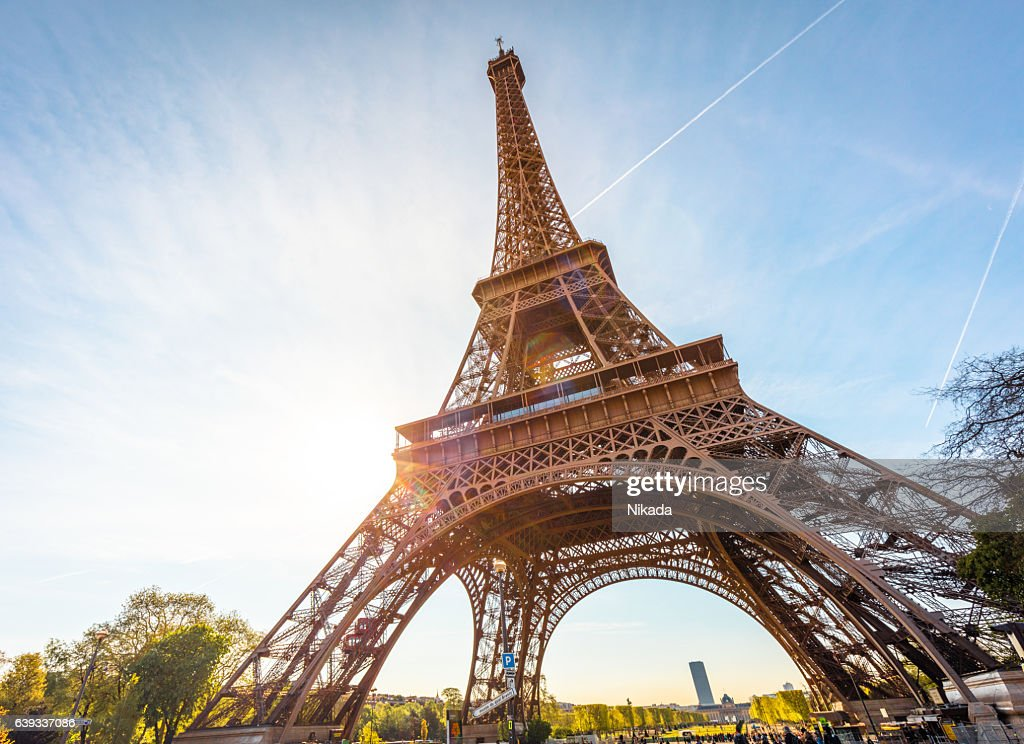 Eiffel Tower in Paris, France : Stock Photo