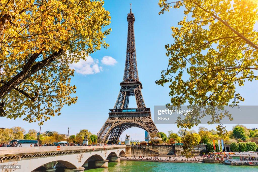 Eiffelturm in Paris, Frankreich : Stock-Foto