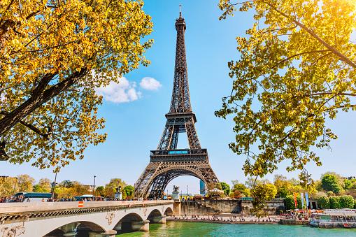 Eiffel Tower in Paris, France 924891460
