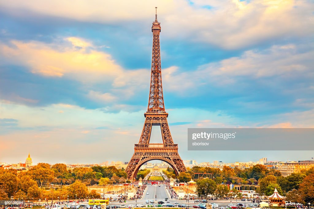 Eiffelturm in Paris  : Stock-Foto