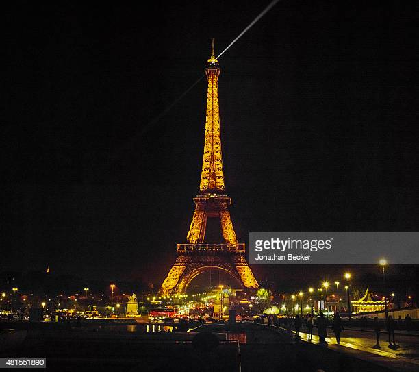 Eiffel Tower is photographed for Vanity Fair Magazine on November 28 2014 at the 2014 Bal des Debutantes at the Palais de Chaillot in Paris France...