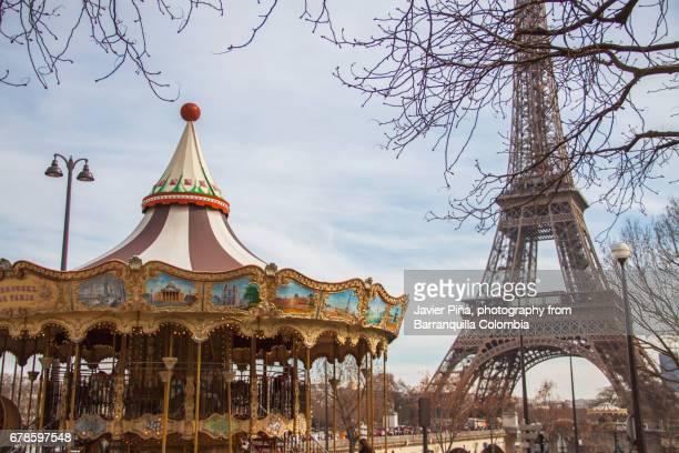 Eiffel Tower of Carousel