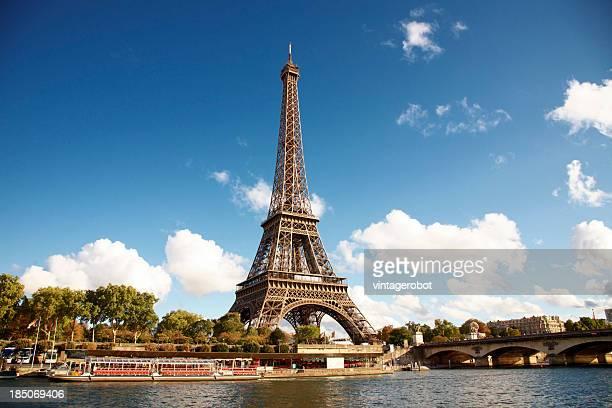 Eiffelturm am Ufer der seine