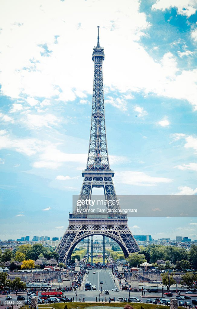 Eiffel Tower : Foto de stock