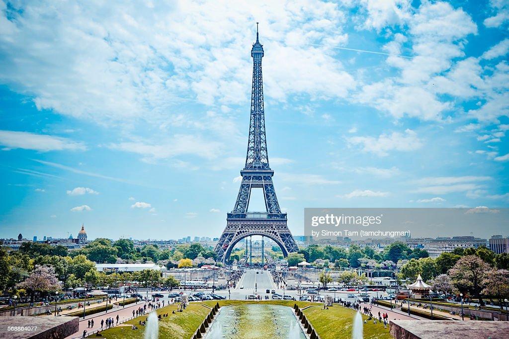 Eiffel Tower (La tour Eiffel) : Stock Photo
