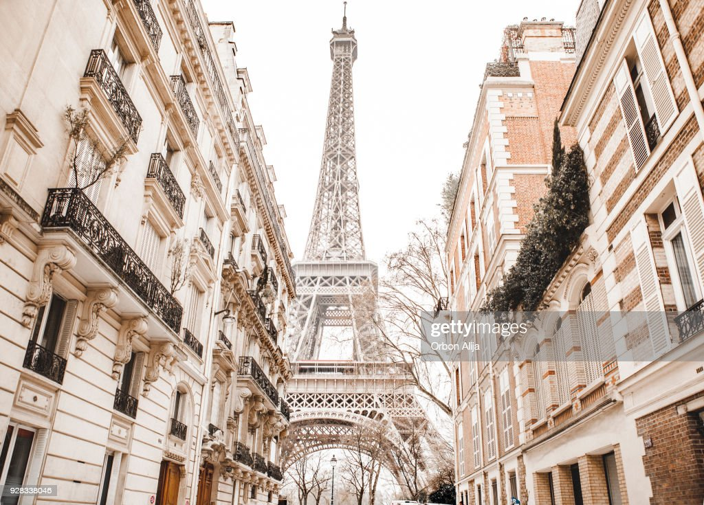 Eiffeltoren met sneeuw : Stockfoto