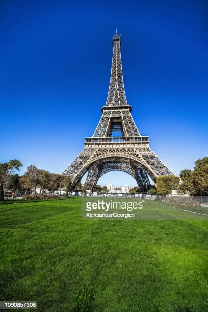 Eiffel's Tower In Paris, France