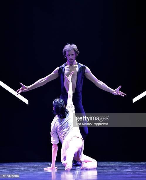 Eifman Ballet Company St Petersburg performing RODIN at The London Coliseum UK Rodin The Waltz danced by Oleg Gabyshev Camille Andreyeva