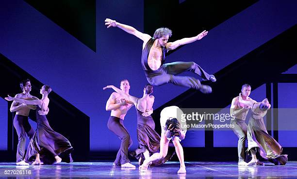 Eifman Ballet Company St Petersburg performing RODIN at The London Coliseum UK Rodin The Waltz danced by Oleg Gabyshev Camille Andreyeva with the...