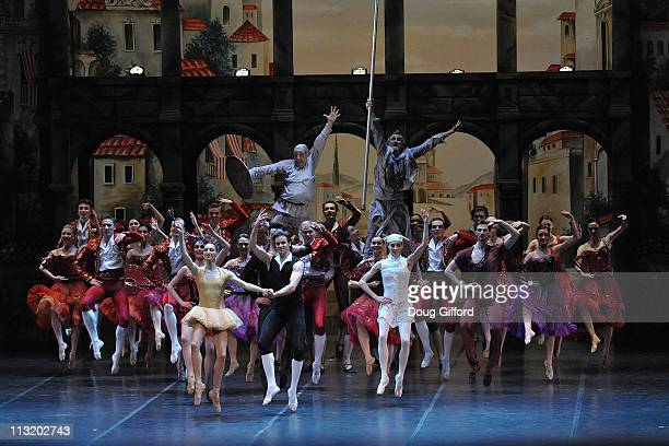 Eifman Ballet of St Petersburg dancers perform Don Quixote at the Segerstrom Center for the Arts on April 26 2011 in Costa Mesa California