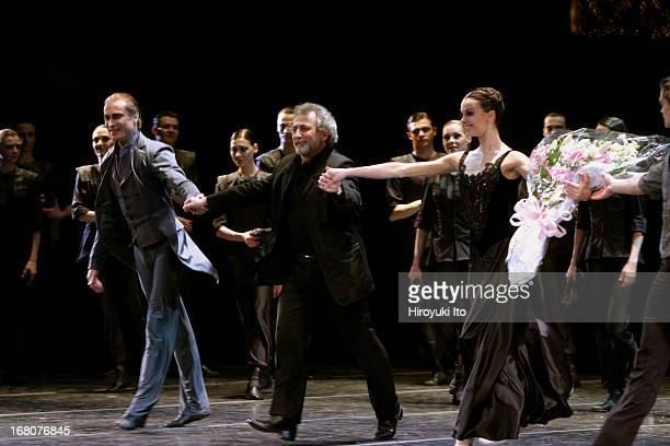 Eifman Ballet of St Petersburg performing Anna Karenina at the City Center on Tuesday night May 24 2005This imageCurtain call from left Albert...