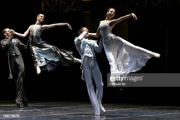 Eifman Ballet of St Petersburg performing Anna Karenina at the City Center on Tuesday night May 24 2005This imageNatalia Povorozniuk as Kiti and Yuri...