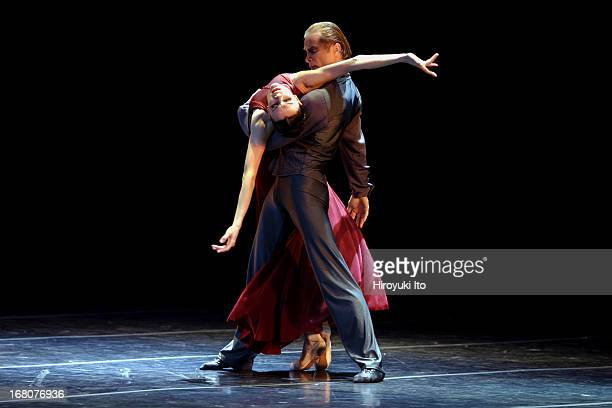 Eifman Ballet of St Petersburg performing Anna Karenina at the City Center on Tuesday night May 24 2005This imageMaria Abashova as Anna and Albert...