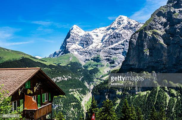 Eiger and Monch, Switzerland