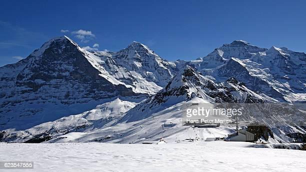 Eiger, Mönch and Jungfrau, Bernese Alps