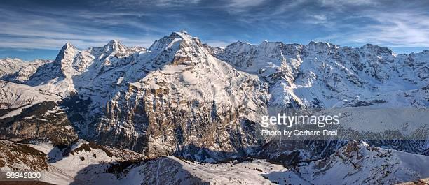 Eiger Monch und Jungfrau