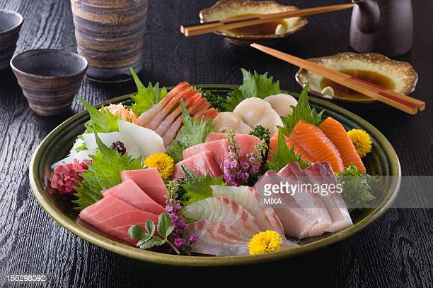 Eight Assorted Sashimi