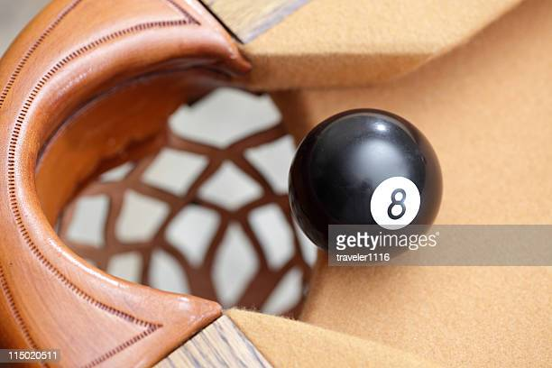 Eight Ball In The Pocket