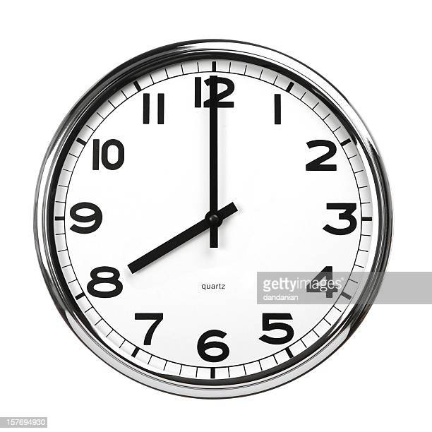 eight o'clock - number 8 stock pictures, royalty-free photos & images