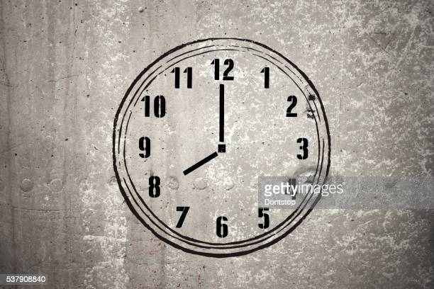 Eight o'clock - Stock Image