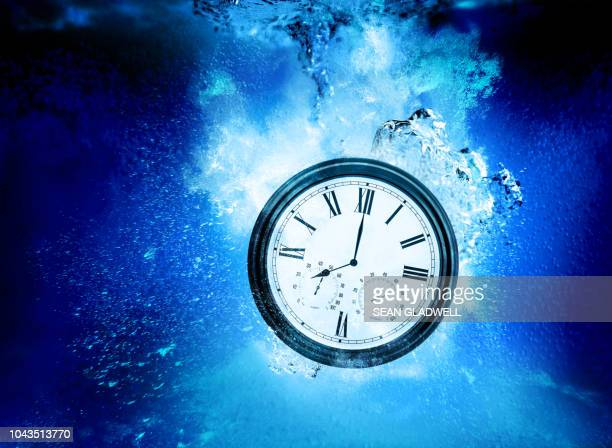 eight o'clock underwater - overworked stock pictures, royalty-free photos & images