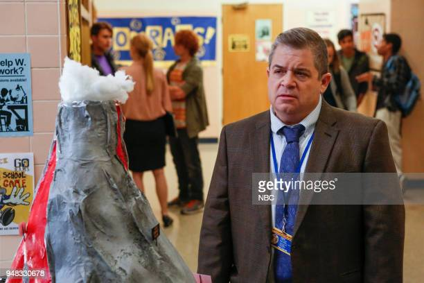 AP BIO 'Eight Pigs and a Rat' Episode 111 Pictured Patton Oswalt as Principal Durbin