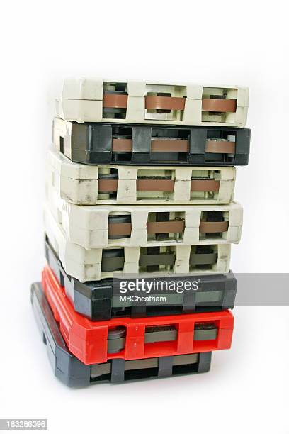 Eight Track Tape Stack