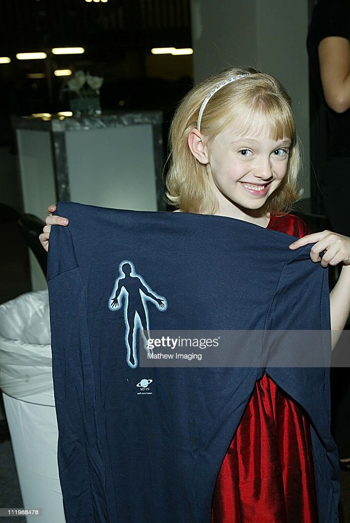 Eight year-old Dakota Fanning who is currently filming Dr. Seuss's Cat In the Hat has a major role in Steven Spielbergs Taken. The 20 hour mini-series premieres December 2, 2002 on the SCI FI Channel. .