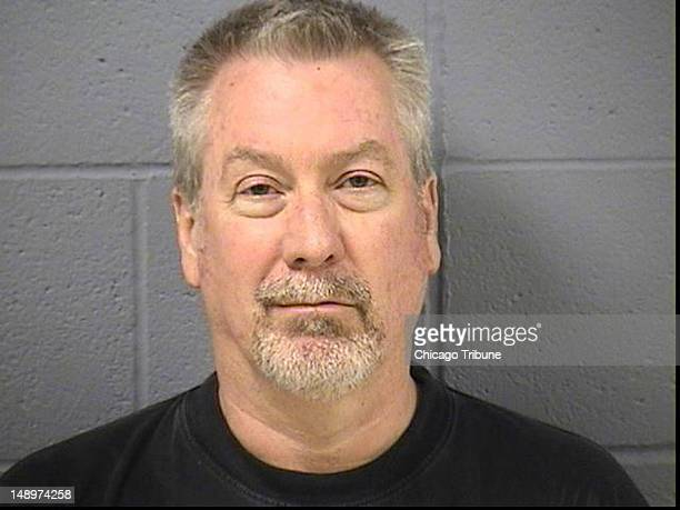 Eight years after nursing student Kathleen Savio drowned in her bathtub her exhusband former Bolingbrook Ill police Sgt Drew Peterson pictured in...