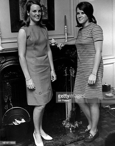 JUN 20 1967 JUL 26 1967 JUL 30 1967 Eighteen girls will make their final appearance as flower girls Tuesday when they parade down the garden stairway...