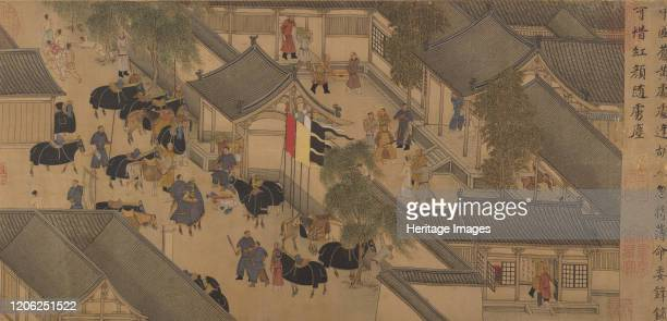 The Story of Lady Wenji early 15th century Lady Wenji was abducted by barbarians c AD195 and spent twelve years among the Xiongnu people The costumes...
