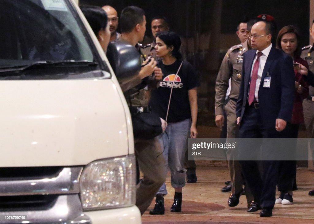 THAILAND-SAUDI-POLITICS-ASYLUM : News Photo
