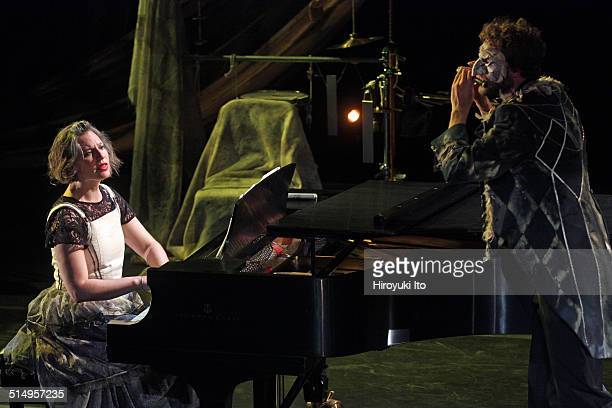 Eighth Blackbird performing in 'Heart Breath' at the opening night concert at the Miller Theater on Thursday night September 18 2014This imageLisa...