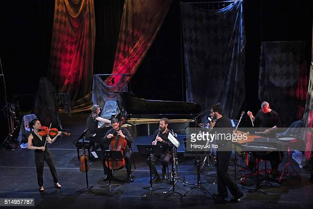 Eighth Blackbird performing in 'Heart Breath' at the opening night concert at the Miller Theater on Thursday night September 18 2014This imageEighth...